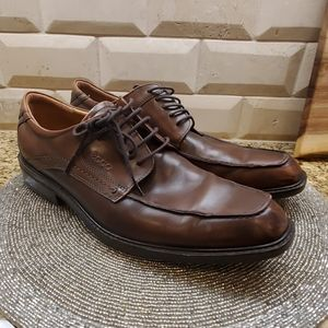 ECCO Brown Leather Oxfords - Size 44 (10-10.5)